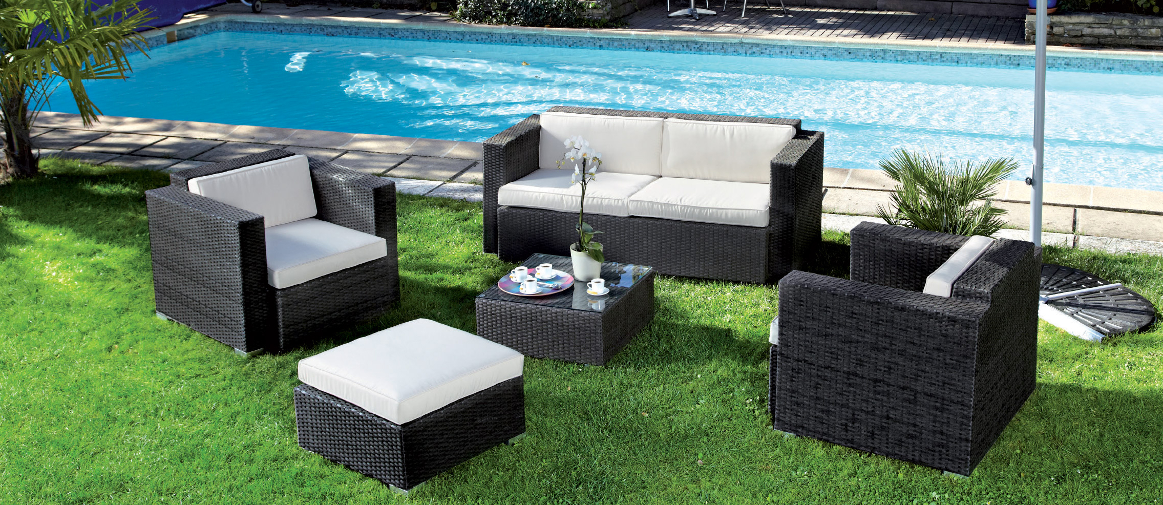 mobilier de jardin la tendance pour l 39 t lamarelle net. Black Bedroom Furniture Sets. Home Design Ideas
